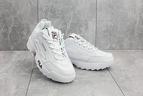 Кроссовки G 3057-1 (Fila Disruptor II Premium Sneaker) (весна/осень, женские, искусственная кожа, бе