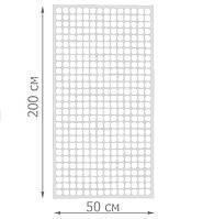Торговая сетка стенд в рамке 50/200см профиль 15х15 мм (от производителя оптом и в розницу)