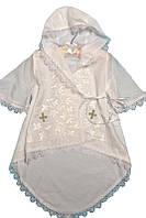 Рубашка для крещения с капюшоном №8