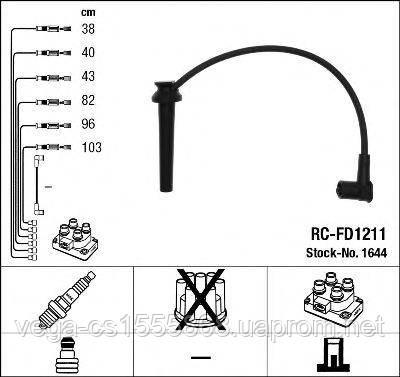 Комплект проводов зажигания NGK 1644 на Ford Mondeo / Форд Мондео