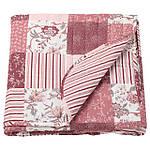 IKEA VARRUTA Покрывало, белый, розовый  (403.819.22), фото 4