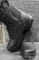 Всесезонные берцы Miltec Tactical Boots черные, фото 1