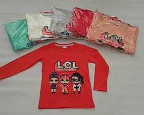 Реглан с куклой Lol для девочек 104-110-116-122-128 роста SURPRISE, фото 2