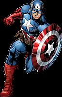 """Детский день рождения """"Капитан Америка"""""""