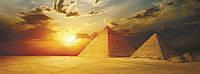 Пленочный настенный обогреватель картина, Трио VIP Египет, инфракрасный обогреватель