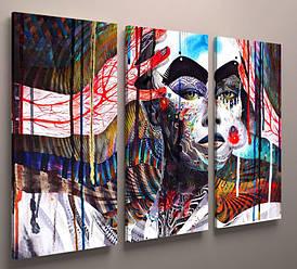 Модульна картина-абстракція 90х60