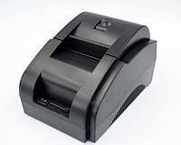 Bluetooth, USBпринтер чеков, термопринтер штрих кодов WodeMax WD-58DT 58mm