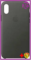 Чехол-накладка Apple Silicone Case Apple iPhone Xr Dark Gray