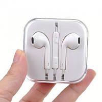 Наушники гарнитура Apple EarPods with Remote and Mic реплика, фото 1