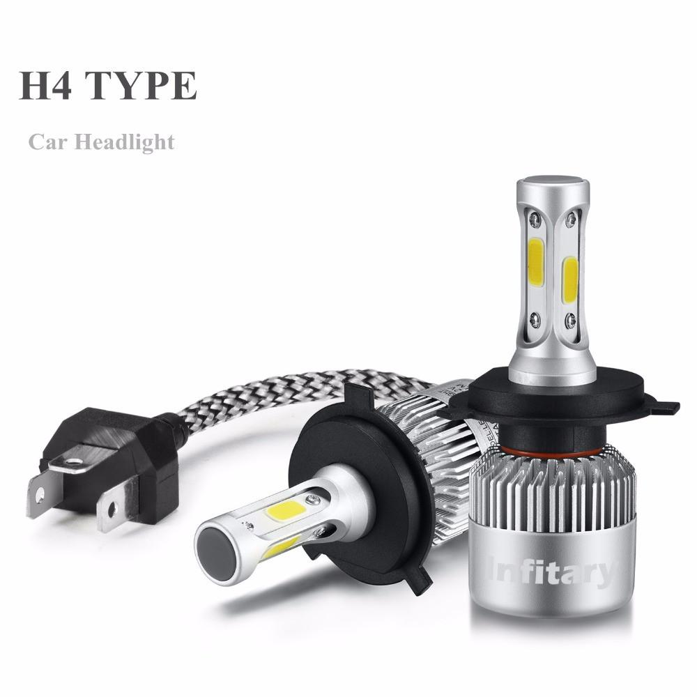 Лампи автомобільні світлодіодні INFITARY H4 Hi/Lo, головне світло