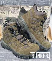 Заниженные ботинки тактические Miltec Trooper 5inch олива, фото 1