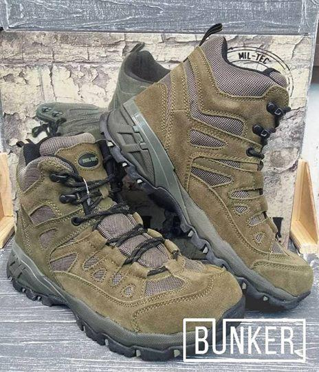 Заниженные ботинки тактические Miltec Trooper 5inch олива