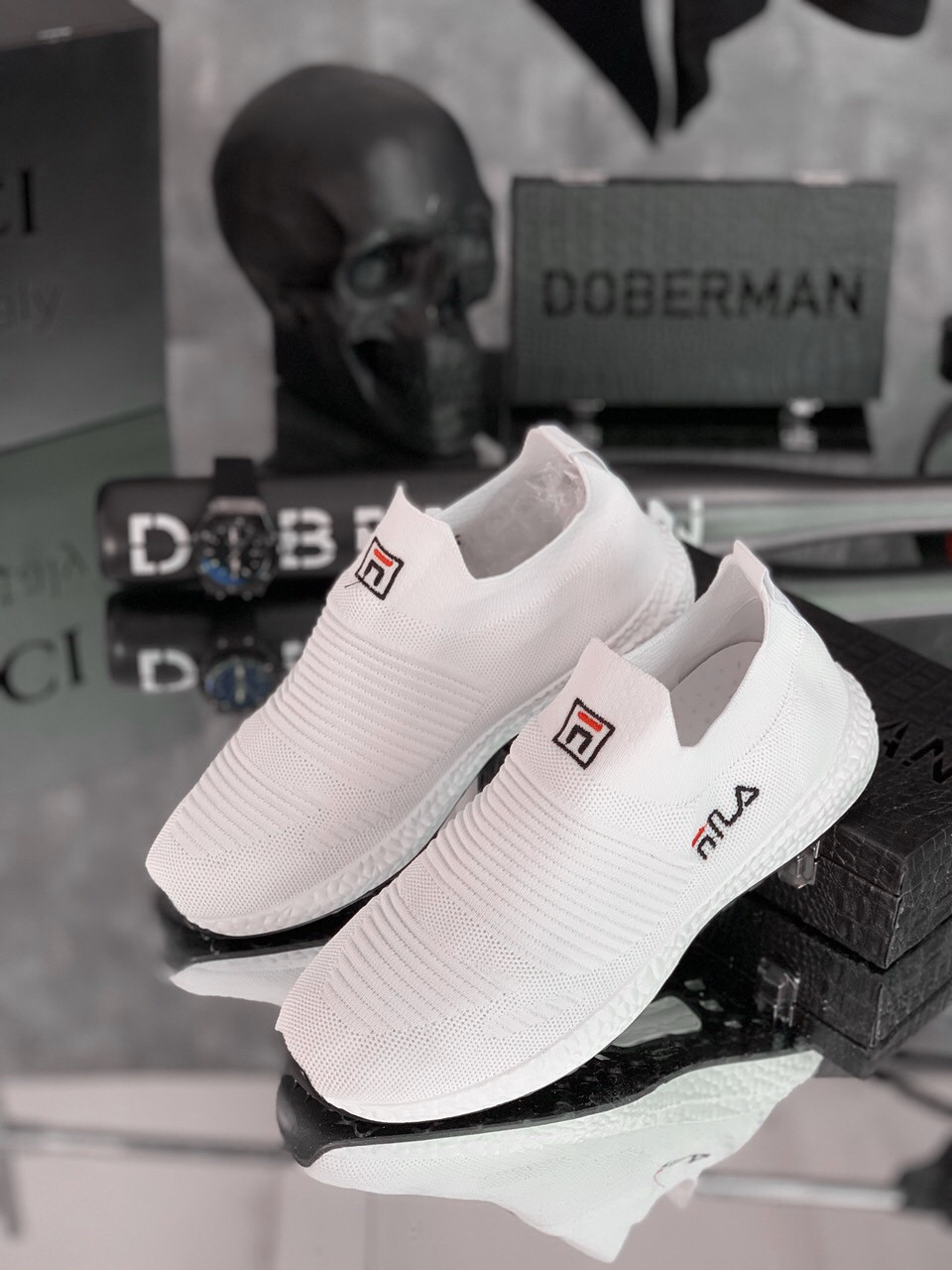 Кроссовки мужские Fila dzen D6324 белые