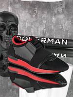 Кроссовки мужские Bolo D6333 черные, фото 1