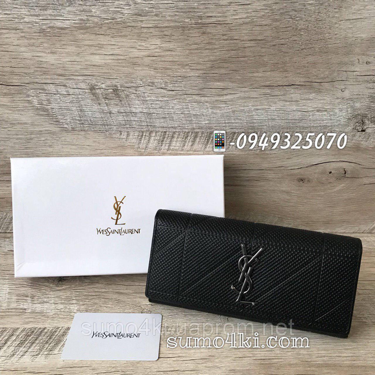 c2fd65a589cb Женский кожаный кошелек Yves Saint Laurent Ysl - Интернет-магазин «Галерея  Сумок» в