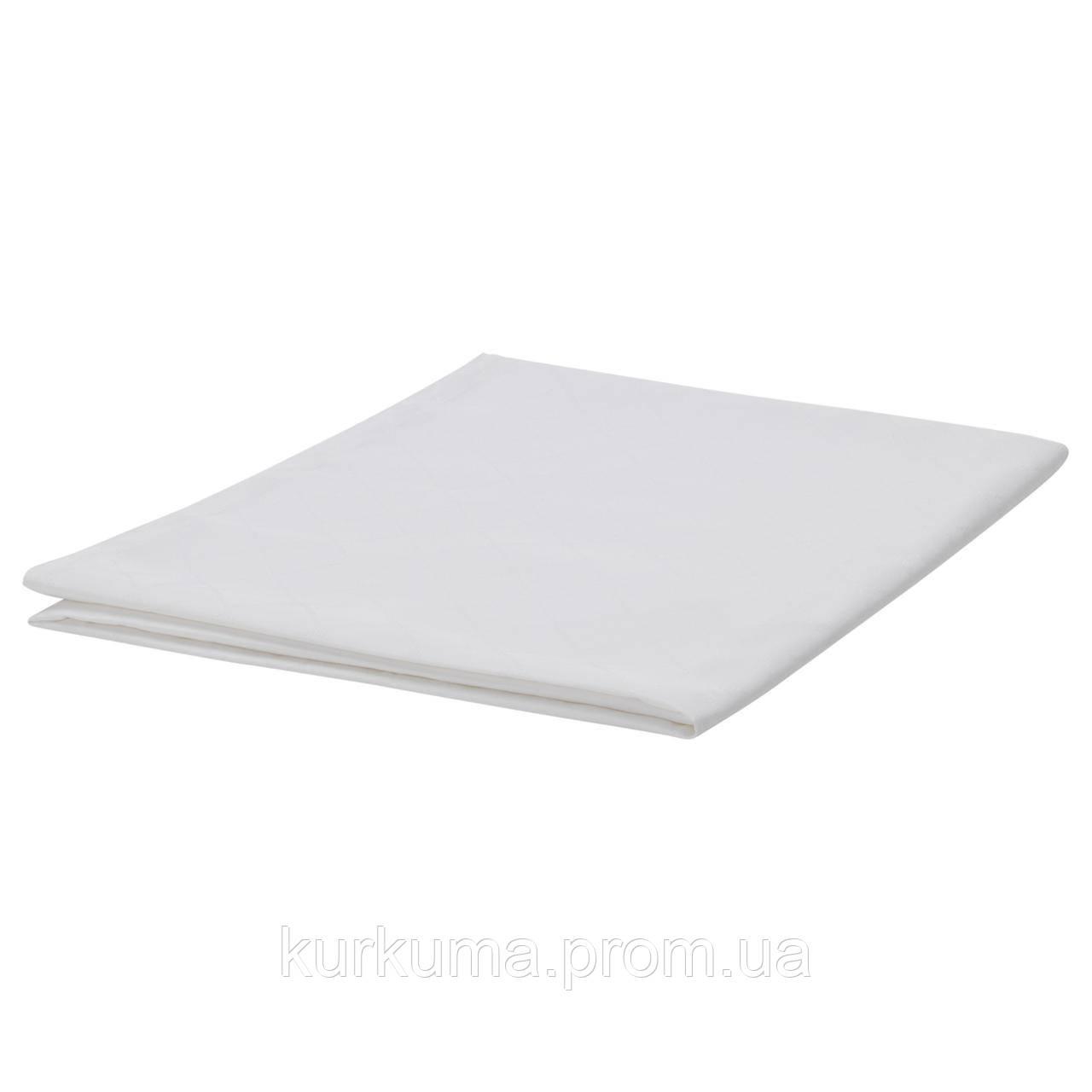 IKEA FULLKOMLIG Скатерть, белый  (103.430.45)