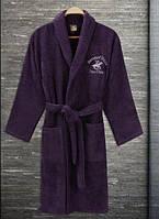 Халат Beverly Hills Polo Club 355BHP1710 XS/S пурпурний бузковий, фото 1