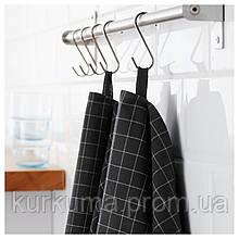 IKEA IKEA365+ Кухонное полотенце, черный  (802.578.12)