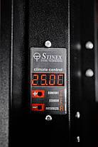 Керамический обогреватель конвекционный тмStinex, PLAZA CERAMIC 700-1400/220 Thermo-control Black, фото 2