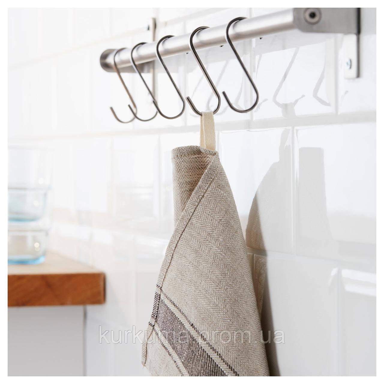 IKEA VARDAGEN Кухонное полотенце, бежевый  (802.926.36)