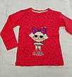 Реглан с куклой LOL для девочек 104-110-116-122-128 роста, фото 3