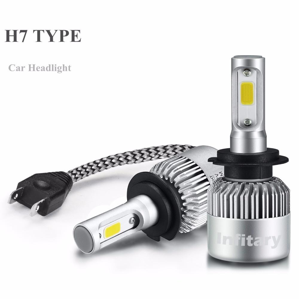 Лампи автомобільні світлодіодні INFITARY H7, головне світло