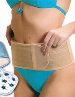 ✅ Пояс для поясницы. Пояс для поддержки спины.Турмалиновый, бежевый. Пояса для спины, Пояси для спини