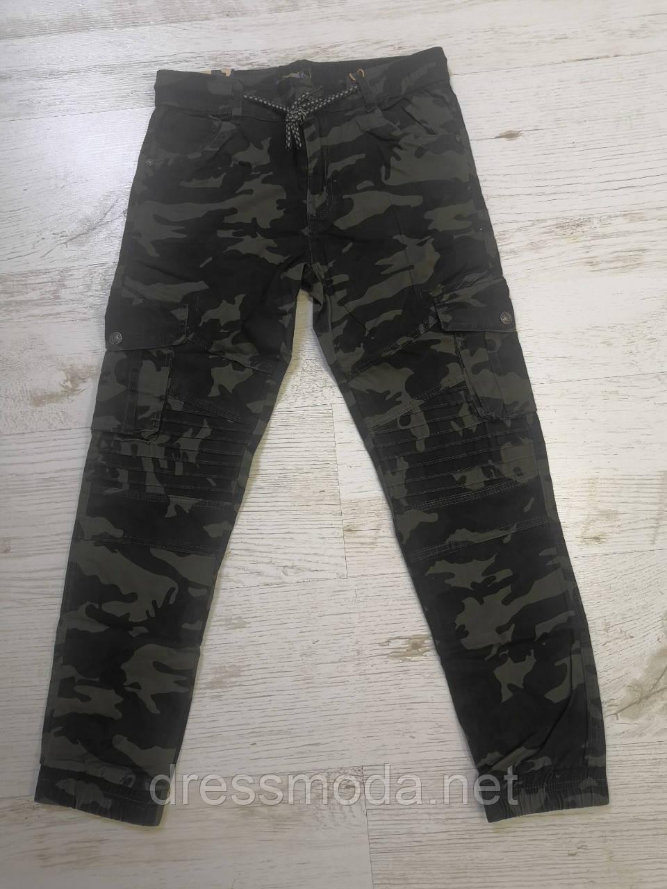 Котонові штани джоггеры для хлопчиків Seagull 134-164 p.p.