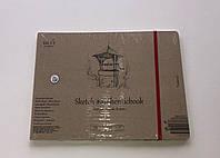 Альбом для ескізів AUTHENTIC А5 (24,5*17,6см), 100г/м2, 32л, натуральний колір, SMILTAINIS