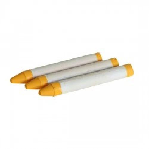 Мел маркировочный восковой, желтый (12шт в коробке). HTools, 14K833