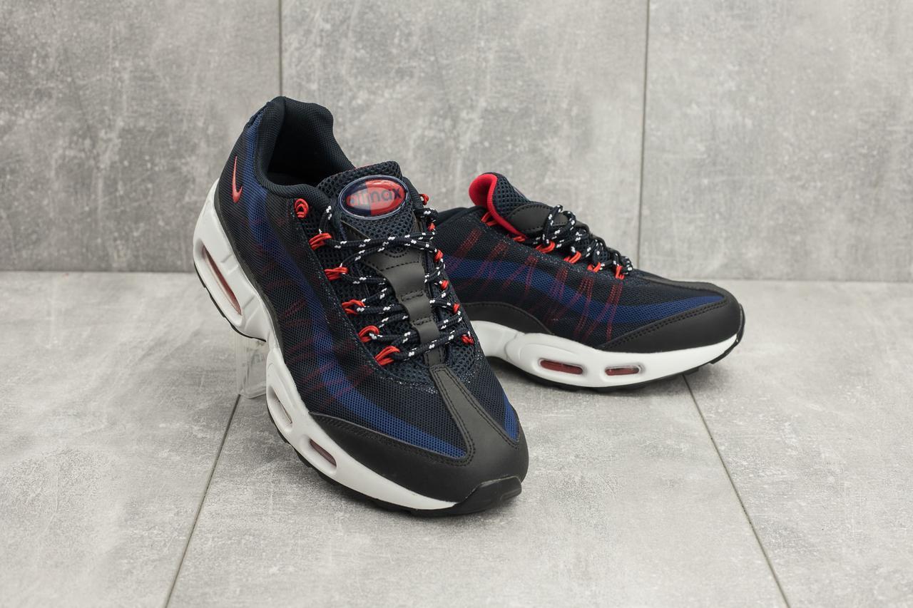 Кроссовки Classik 9387-2 (Nike AirMax) (весна-осень, мужские, сетка плотная, синий)