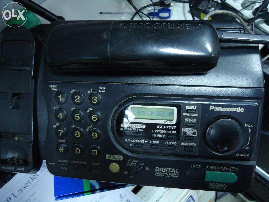 Факс Panasonic с радиотрубкой