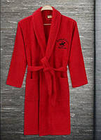 Халат Beverly Hills Polo Club 355BHP1711 XS/S red красный, фото 1
