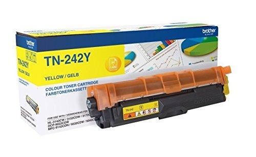 Brother Toner TN-242Y - Оригинальный картридж с тонером