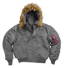 Аляска куртка alpha N-2B Slim Fit