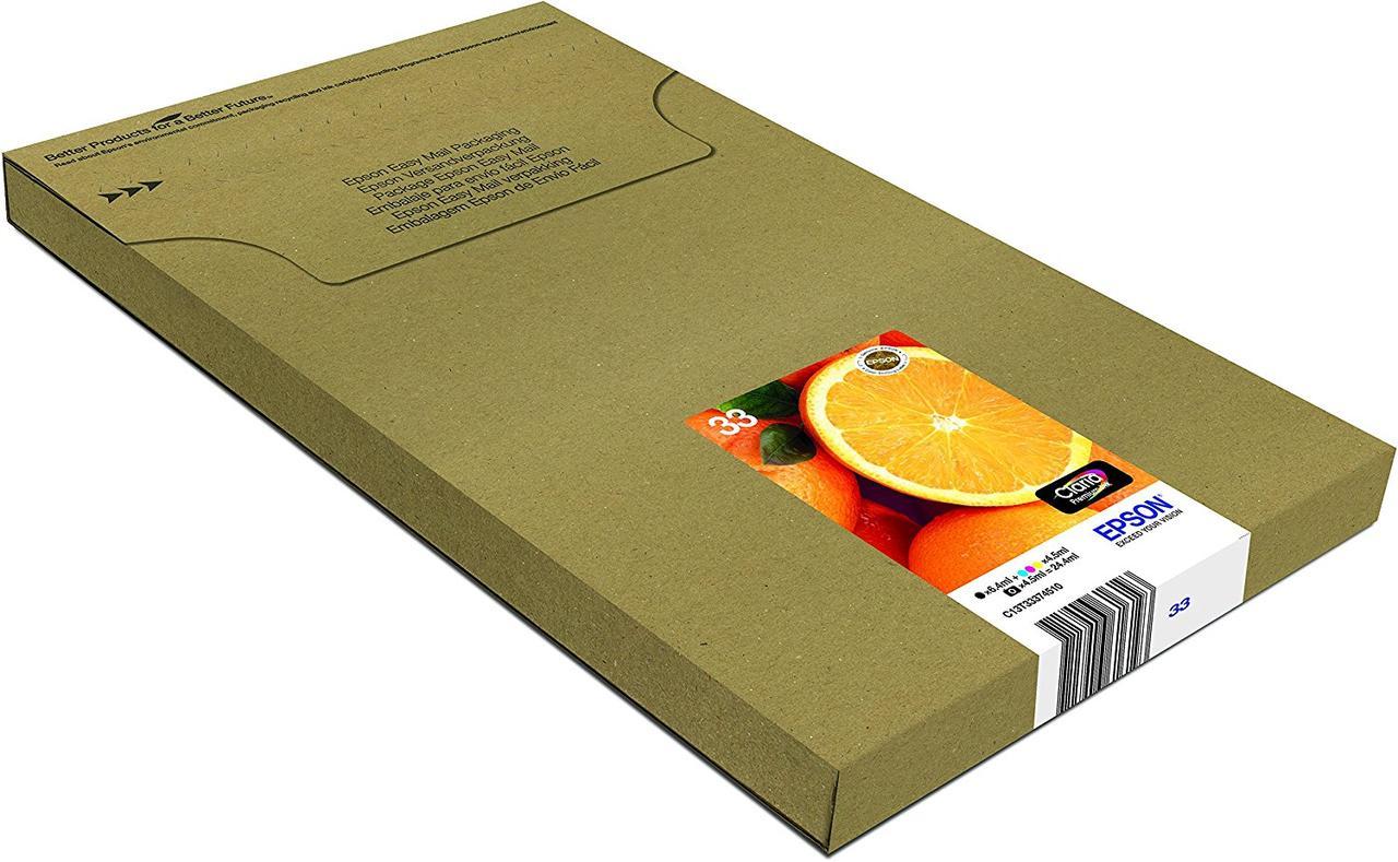 EPSON Multipack Oranges T3337 -  Картриджи Black, Black Photo, Cyan, Magenta, Yellow