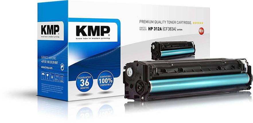 KMP - Тонер KMP для HP Color LaserJet Pro MFP M476dn, H-T191, пурпурный, фото 2
