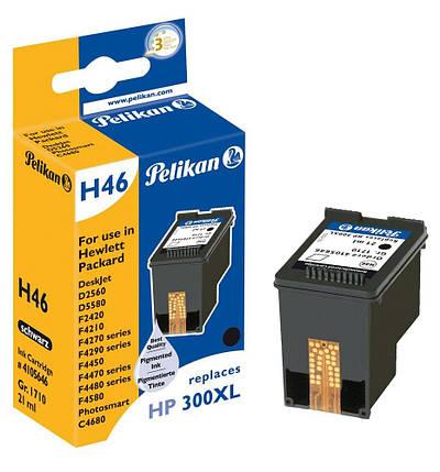 Pelikan H46 - Струйный картридж для HP 300XL CC641EE) черный, фото 2