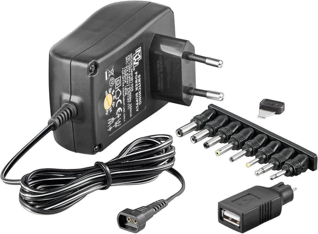 Адаптер - Wentronic NTS 1500 EuP MW 3R15GS универсальное зарядное устройство