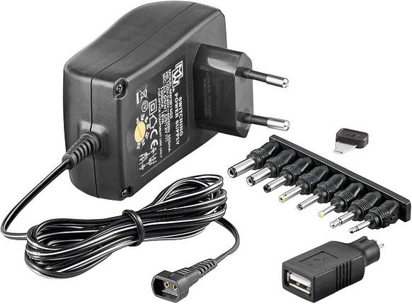 Адаптер - Wentronic NTS 1500 EuP MW 3R15GS универсальное зарядное устройство, фото 2