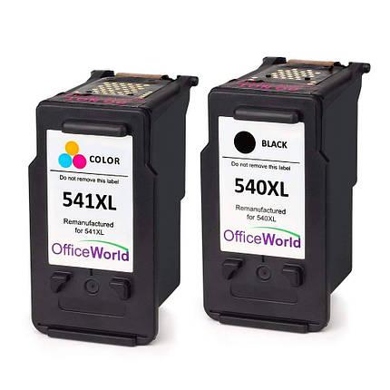 Картридж - OfficeWorld для Canon PG-540 CL-541 Pixma MG2100 , фото 2