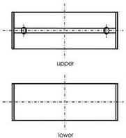 Вкладыши коренные Master/Trafic 1.9dCi 01- (+0.50) Kolbenschmidt 77753620 на Opel Vivaro / Опель Виваро