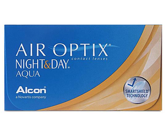 Контактные линзы - Air Optix Night & Day Aqua , фото 2