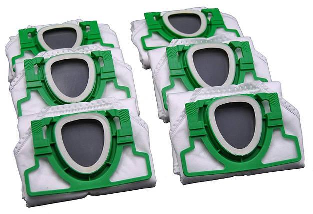 Мешки для пылесоса - FSProdukte vk200-2 с микрофиброй 10штук, фото 2