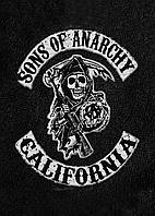 Картина GeekLand Sons of Anarchy Сыны Анархии лого  40х60 SA 09.003
