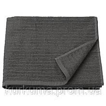 IKEA VAGSJON Банное полотенце, темно-серый  (303.536.08)