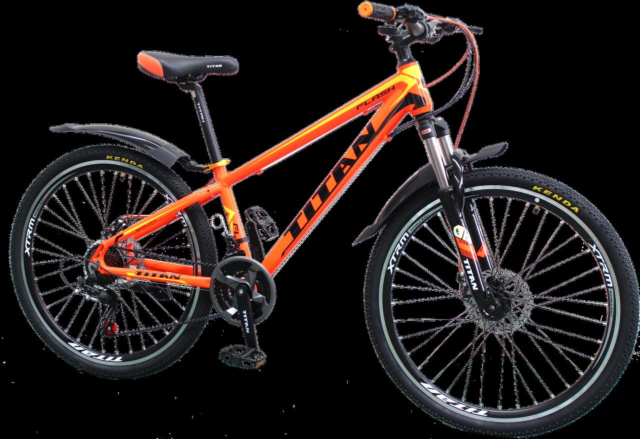 """Горный  Алюминиевый велосипед 26"""" TITAN FLASH"""