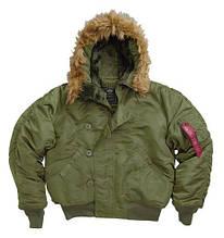 Куртка аляска n-2b Slim Fit Parka Alpha Industries