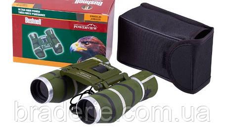 Бинокль 12x25 BSH (green) с чехлом и салфеткой для оптики, фото 2