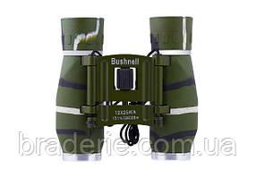 Бинокль 12x25 BSH (green) с чехлом и салфеткой для оптики